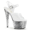 BEJEWELED-708MR Clear/Silver Mirror